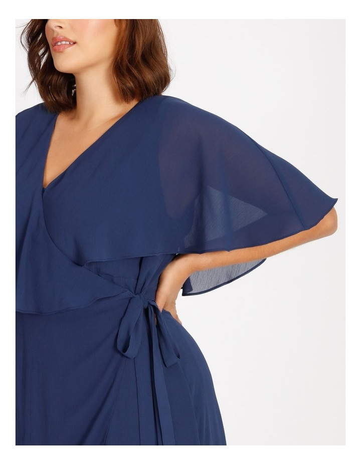 Curve Wrap Midi Dress image 4