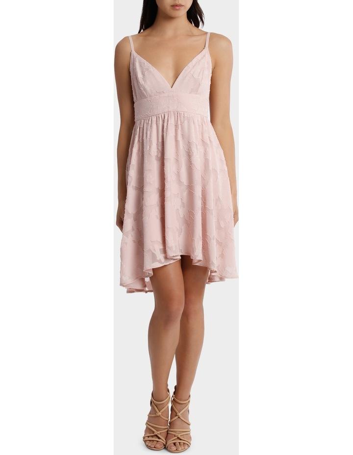 Applique Georgette Babydoll Dress image 1