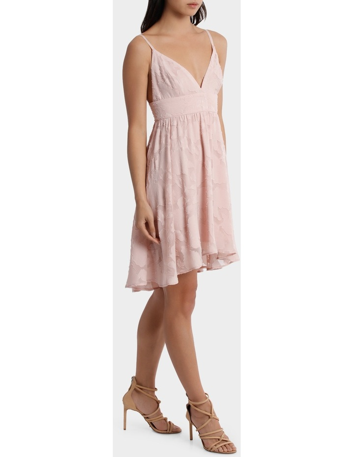 Applique Georgette Babydoll Dress image 2