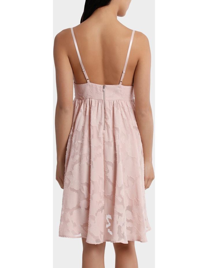 Applique Georgette Babydoll Dress image 3