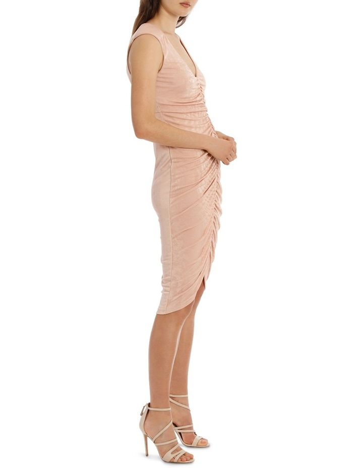Rouched Front Bodycon Dress image 2