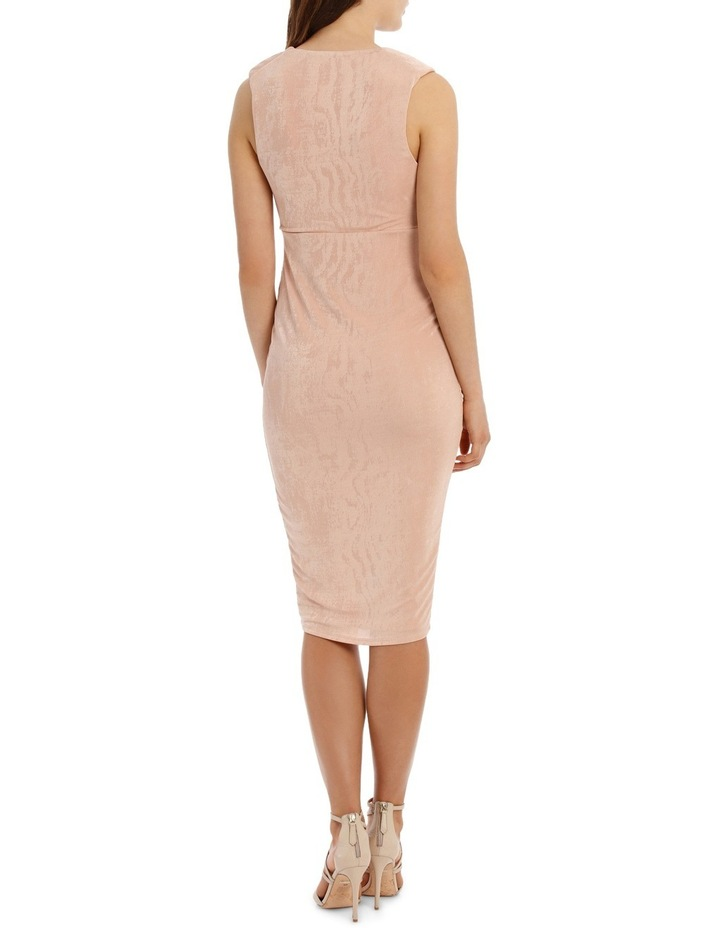 Rouched Front Bodycon Dress image 3