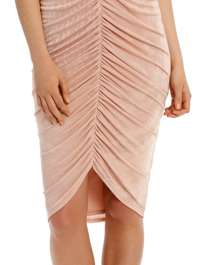 Rouched Front Bodycon Dress image 4