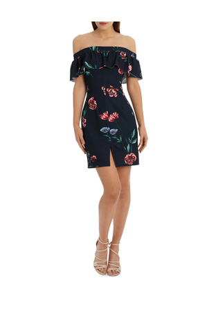 L/A Collective - off the shoulder bodycon dress