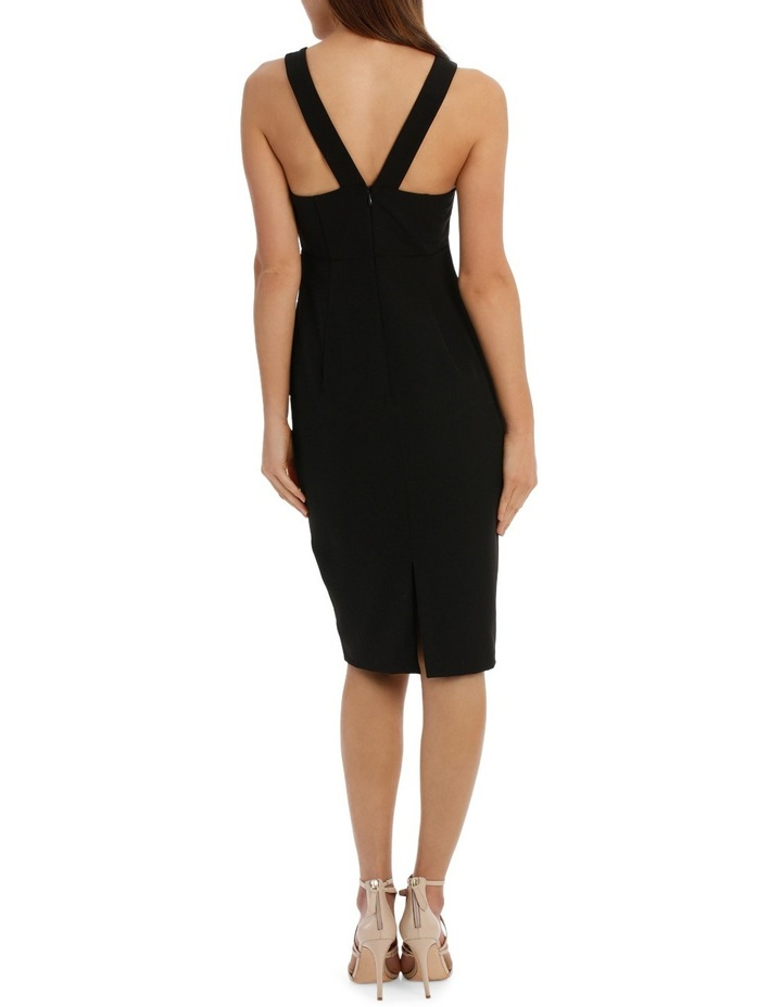 Lace Up Bodycon Dress image 3