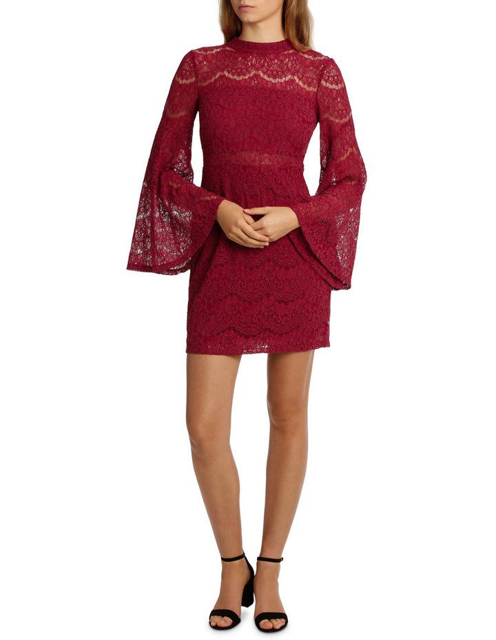 Wing Sleeve Lace Dress image 1