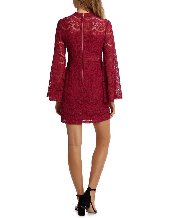 Wing Sleeve Lace Dress image 3