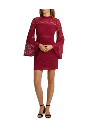 L/A Collective - Wing Sleeve Lace Dress