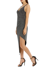 L/A Collective - Glitter Rouched Dress