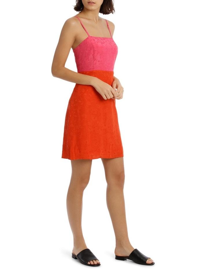 Jacqaurd Colour Block Shift Dress image 2