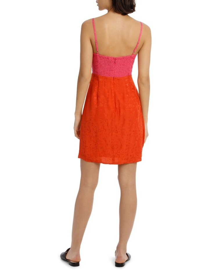 Jacqaurd Colour Block Shift Dress image 3