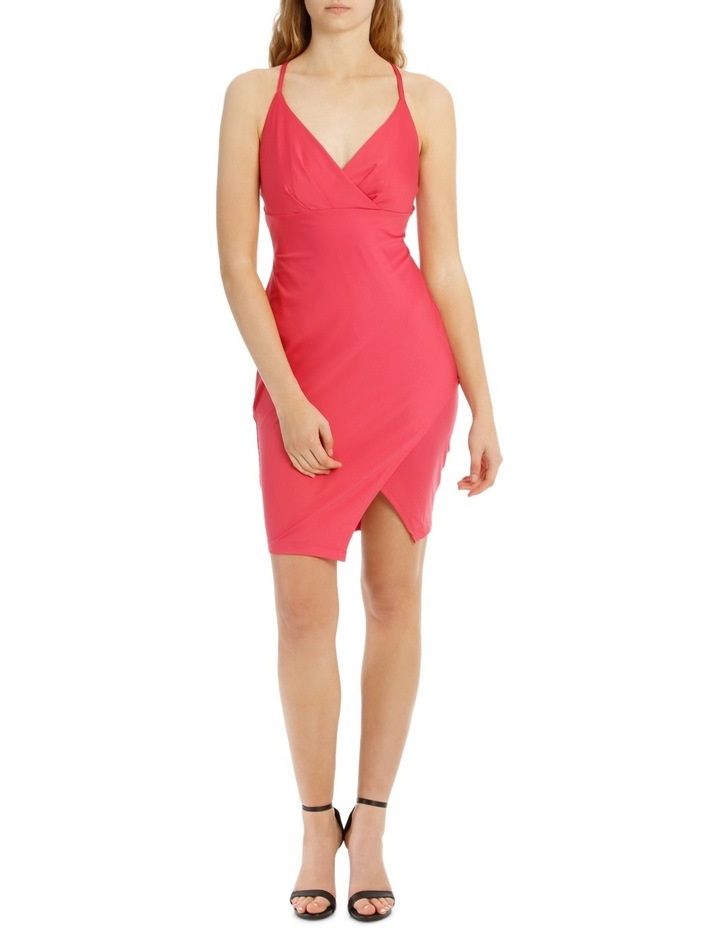 Wrap Front Bodycon With Split image 1