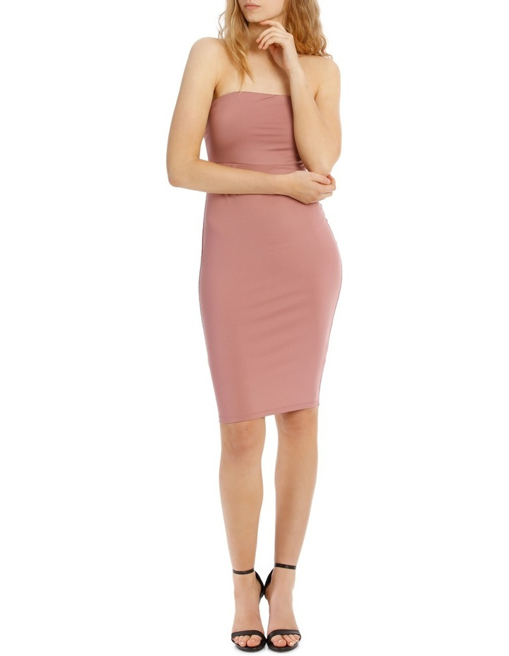 Strapless Bodycon Dress image 1