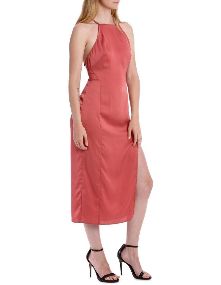 midi apron slip dress image 2