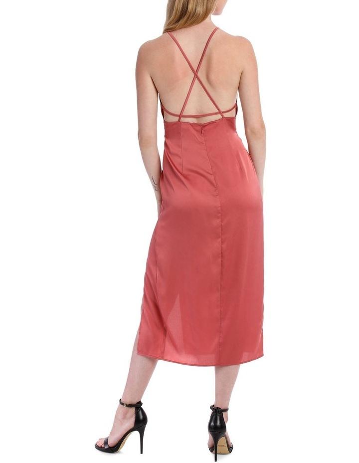 midi apron slip dress image 3