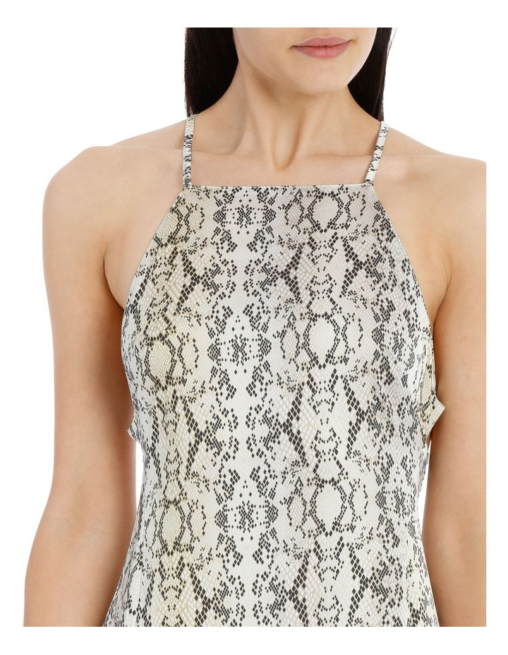 midi apron slip dress image 4