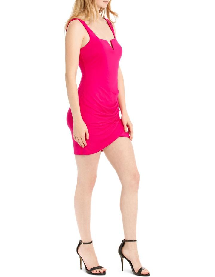 mini jersey dress image 2