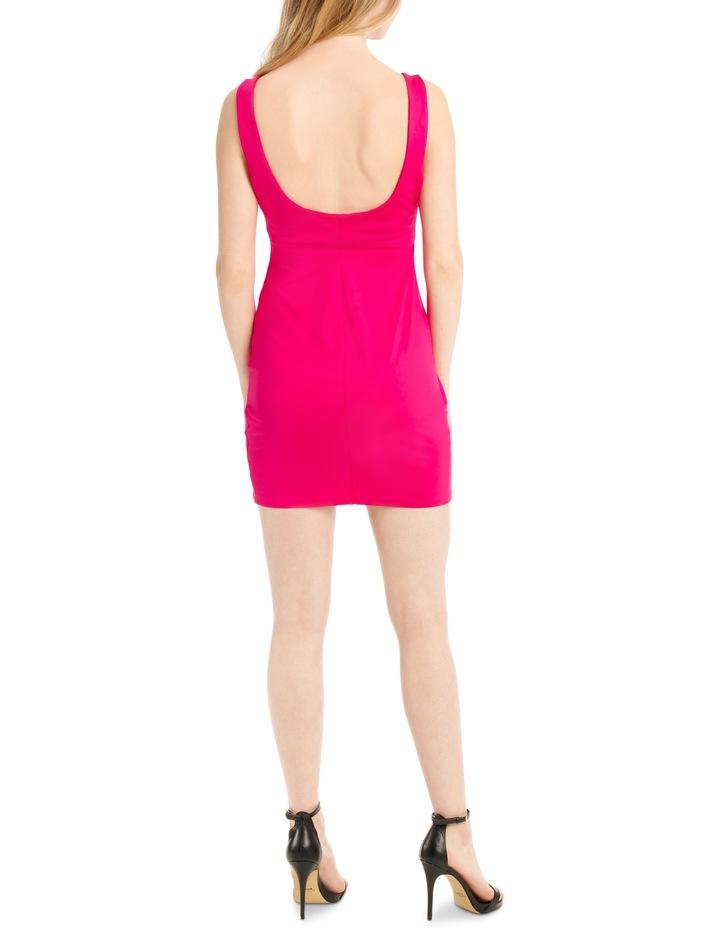 mini jersey dress image 3