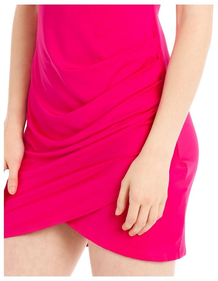 mini jersey dress image 4