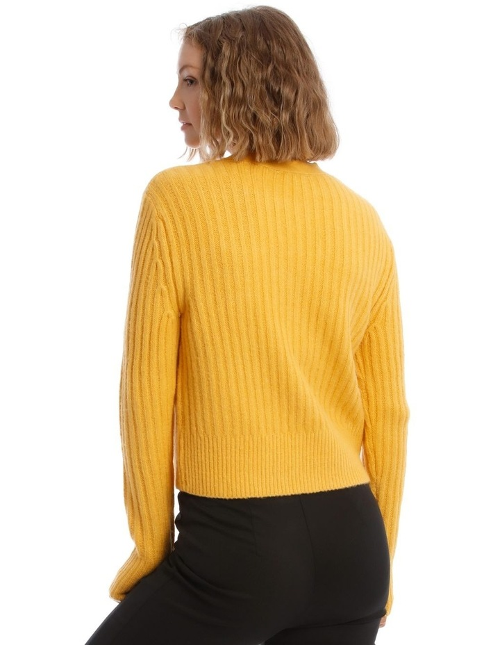 Long Sleeve 3 Button Cardigan image 3
