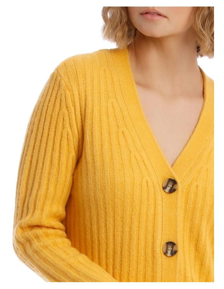 Long Sleeve 3 Button Cardigan image 4