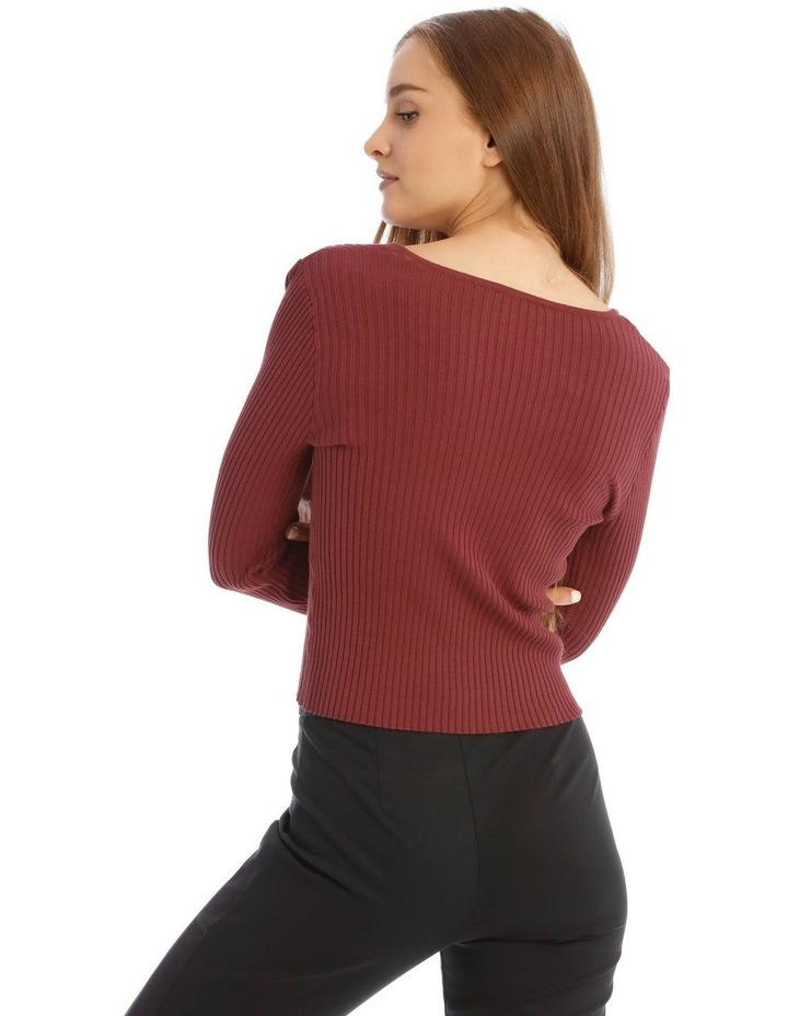V-Neck Knit Jumper image 3