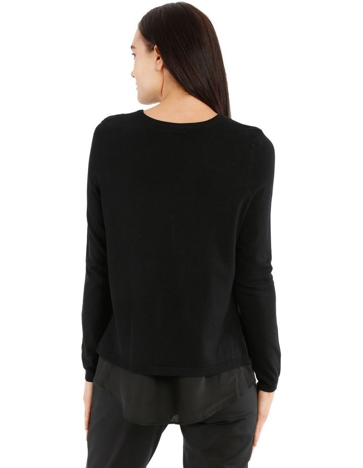 Boat Neck Knit With Shirt Tail image 3