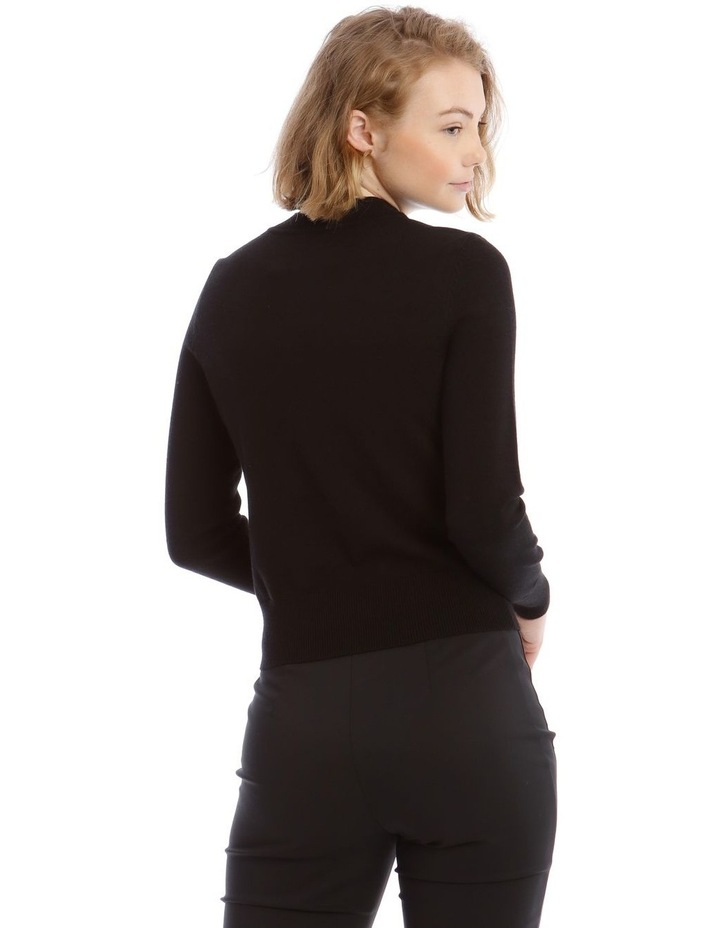 Button Detail Long Sleeve Jumper image 3
