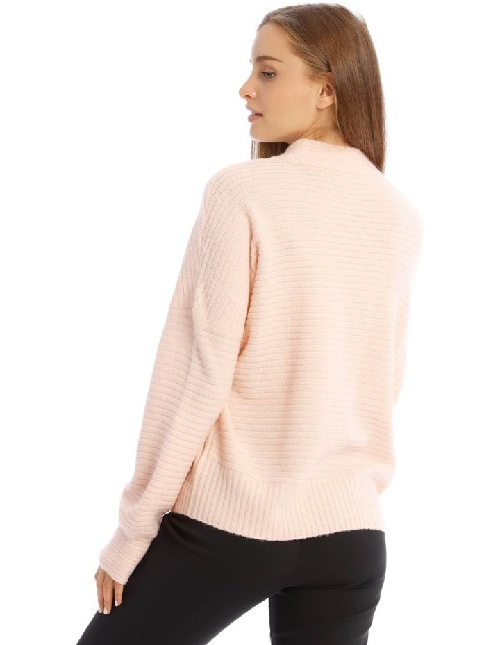 Tubular Neck Rib Jumper image 3