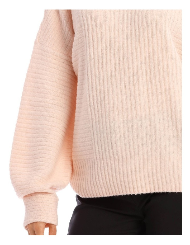 Tubular Neck Rib Jumper image 4