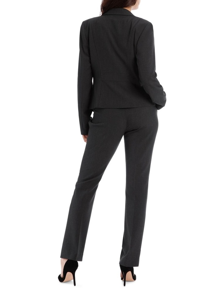 Charcoal Abi One Button Blazer image 5