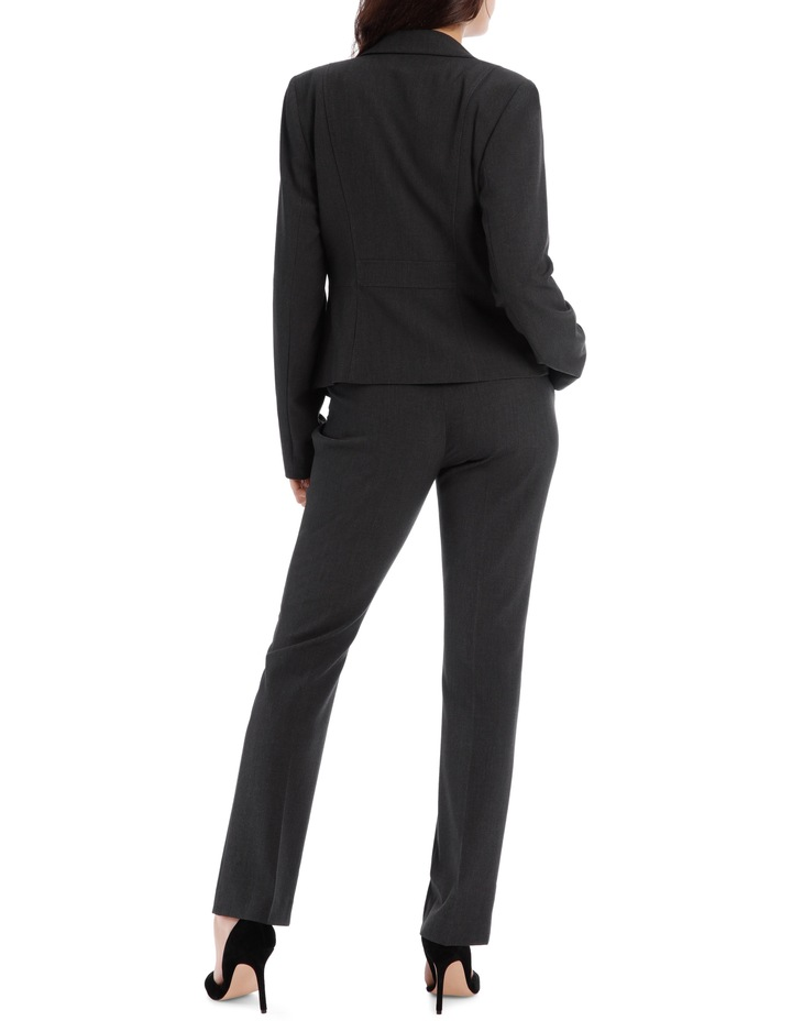 Charcoal Abi One Button Blazer image 6