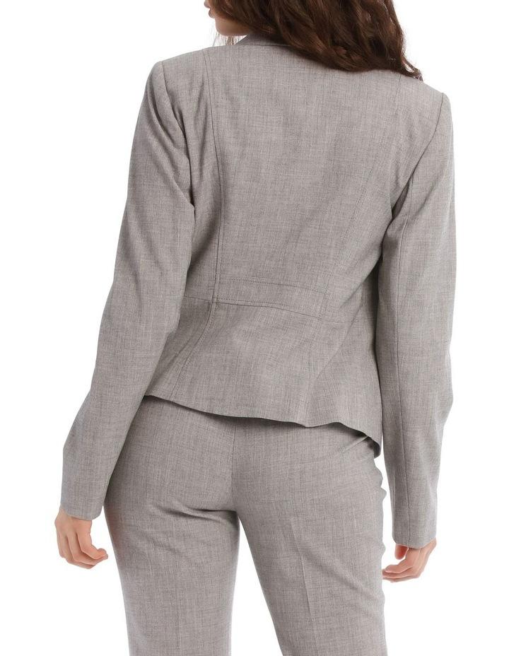 Grey Abi One Button Blazer image 3