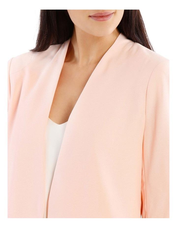 Rouched Sleeve Cropped Blazer image 4