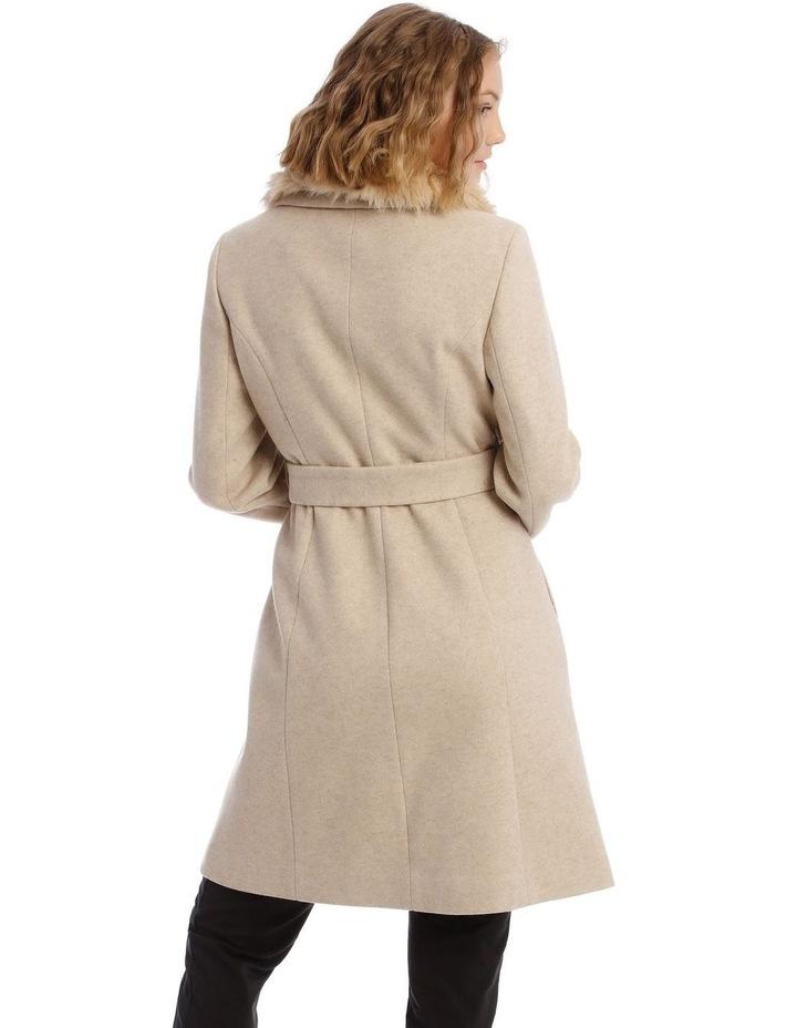 Faux Fur Collar Coat image 3