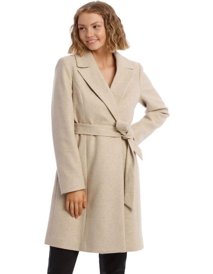 Faux Fur Collar Coat image 5