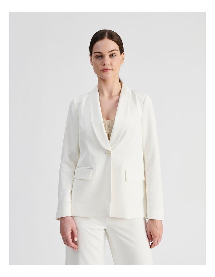 Tailored Single Button Blazer image 1