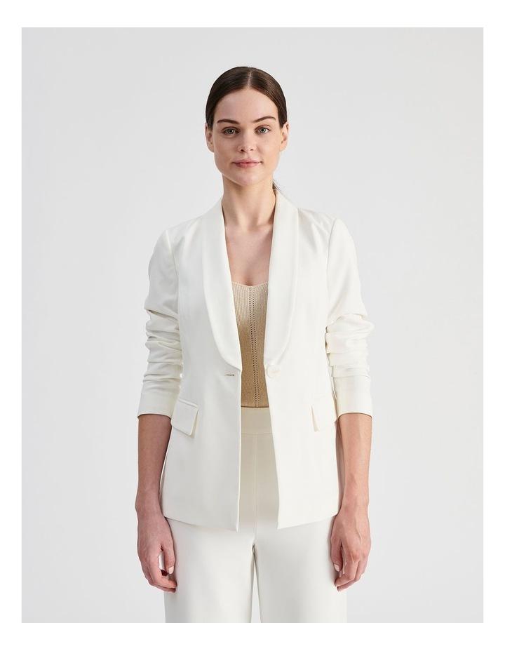 Tailored Single Button Blazer image 2