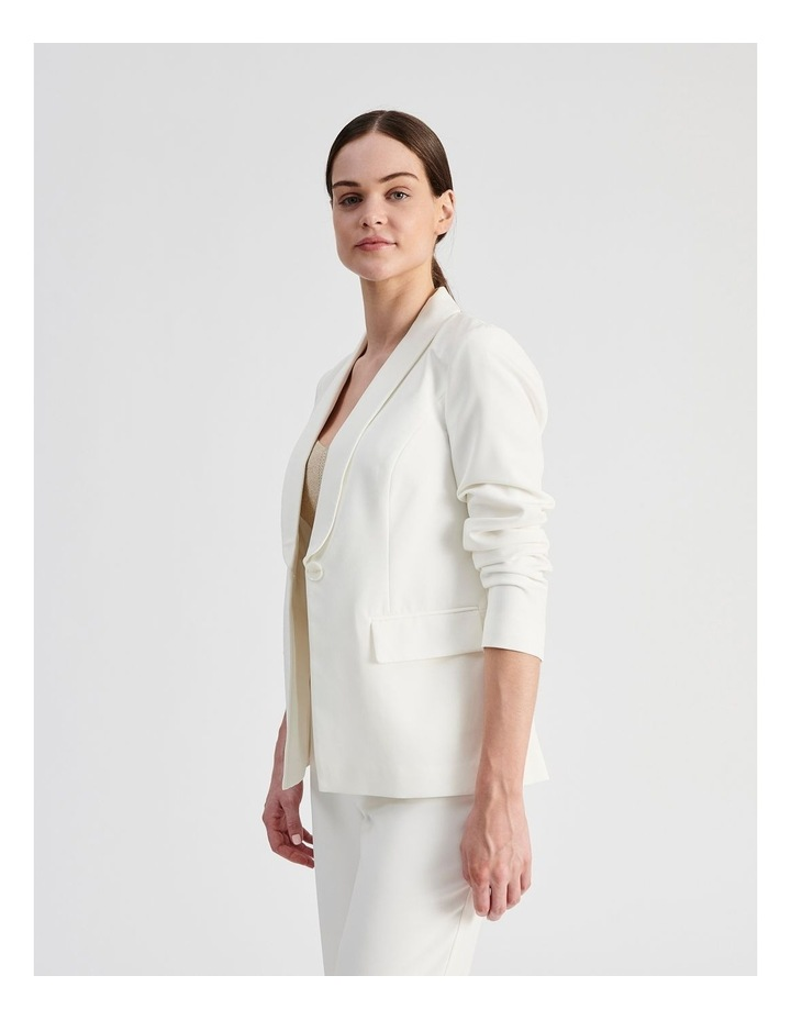 Tailored Single Button Blazer image 3