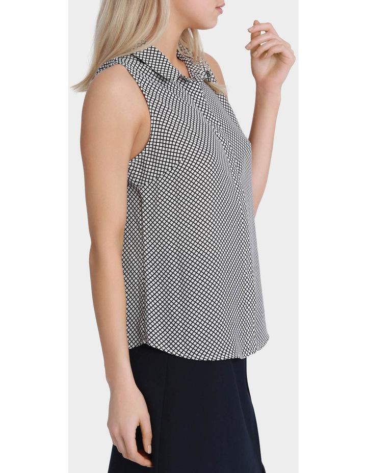 Sleeveless Core Grid Shirt image 2