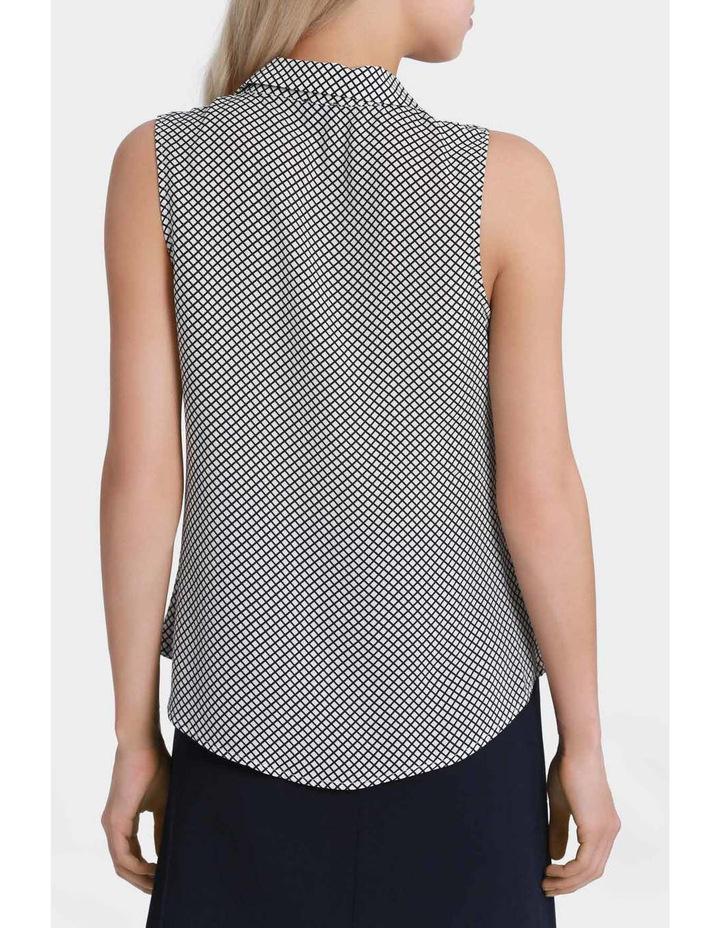 Sleeveless Core Grid Shirt image 3