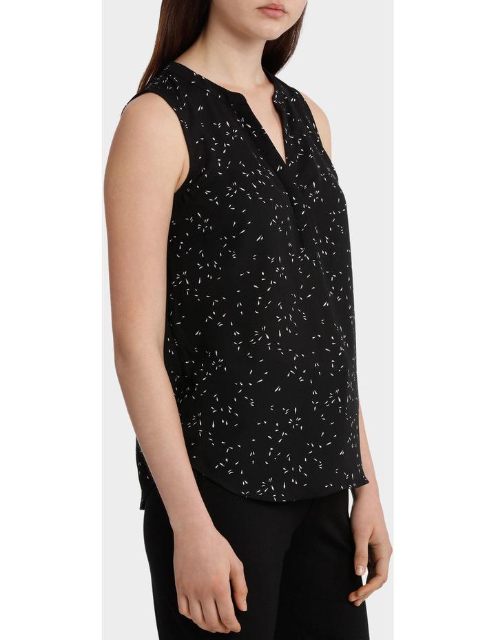 Collarless Sleeveless Shirt image 2