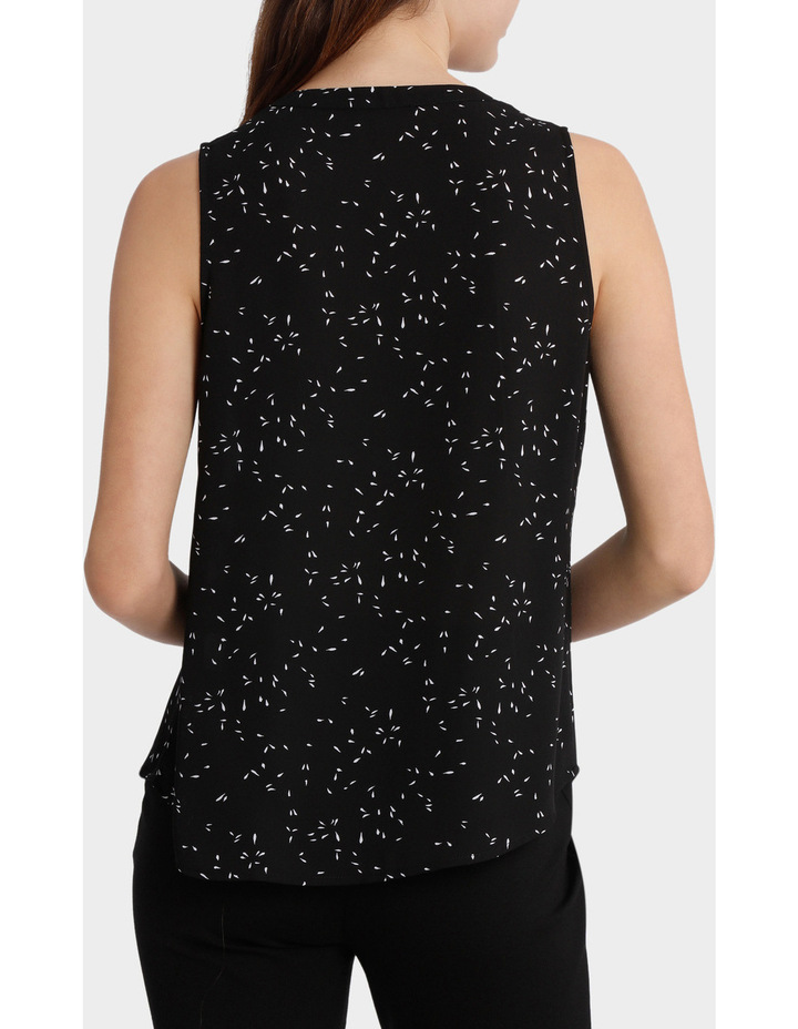 Collarless Sleeveless Shirt image 3