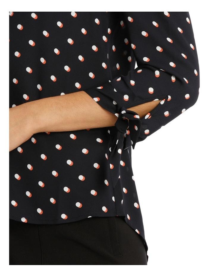Eclipse Spot Tie Sleeve Shirt image 4