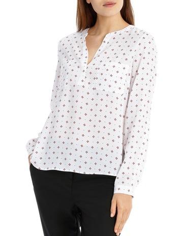 b6bec20f5c TokitoDouble Pocket Roll Sleeve Shirt - Ditsy Geo. Tokito Double Pocket  Roll Sleeve Shirt - Ditsy Geo