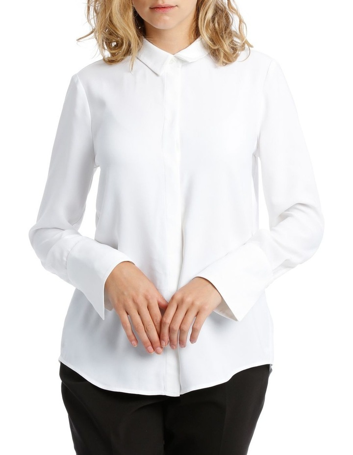White Work Shirt image 1
