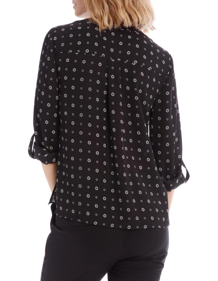 Button Through Shirt - Spot Ditsy image 3