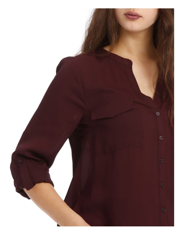 Blackberry Button Through Shirt image 4