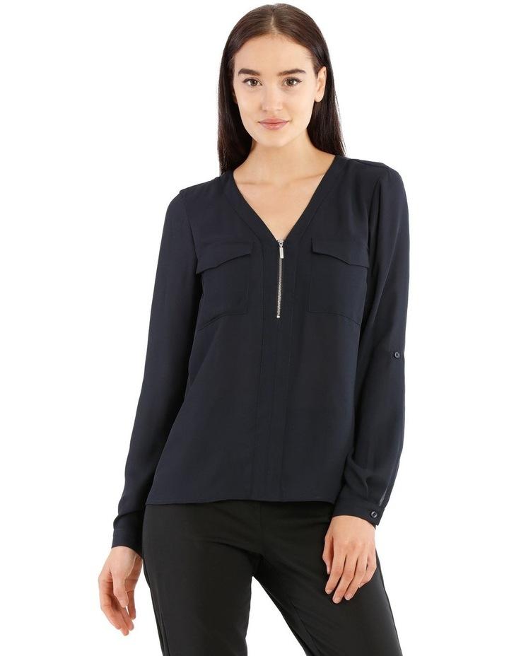 Zip Front Shirt image 1