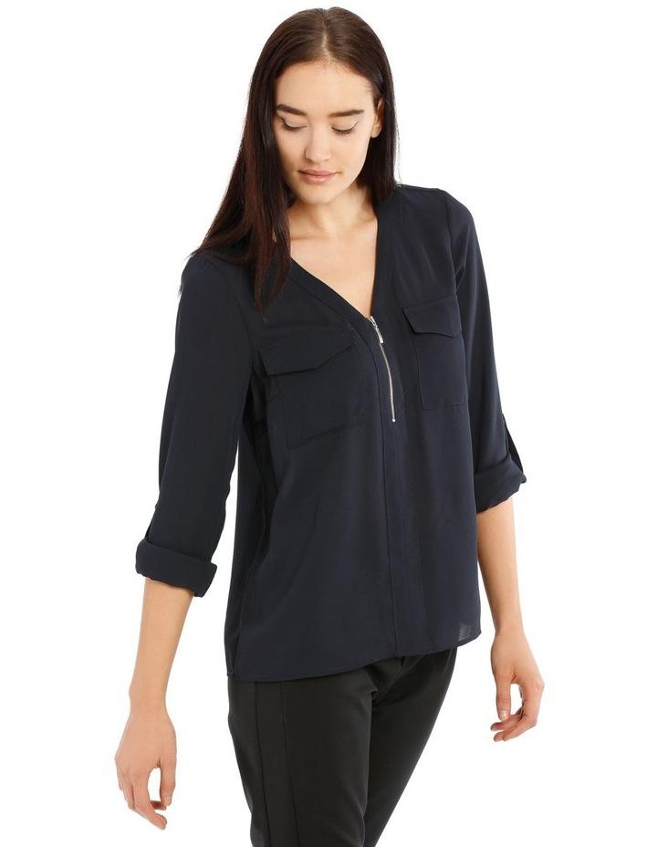 Zip Front Shirt image 2